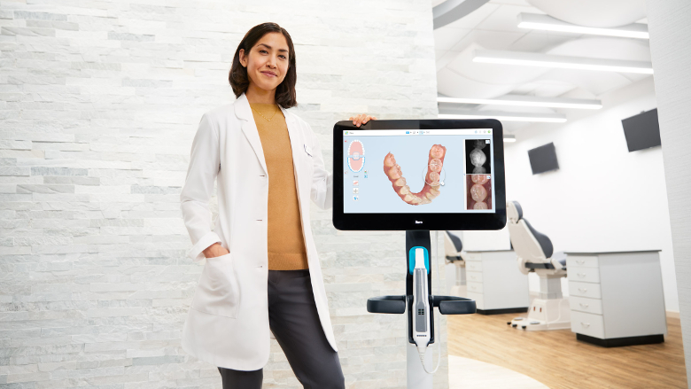 Align Technology exhibits end-to-end solutions in orthodontics and restorative dentistry