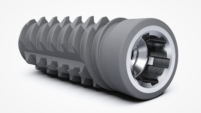 Outstanding primary stability with ProActive Edge implants