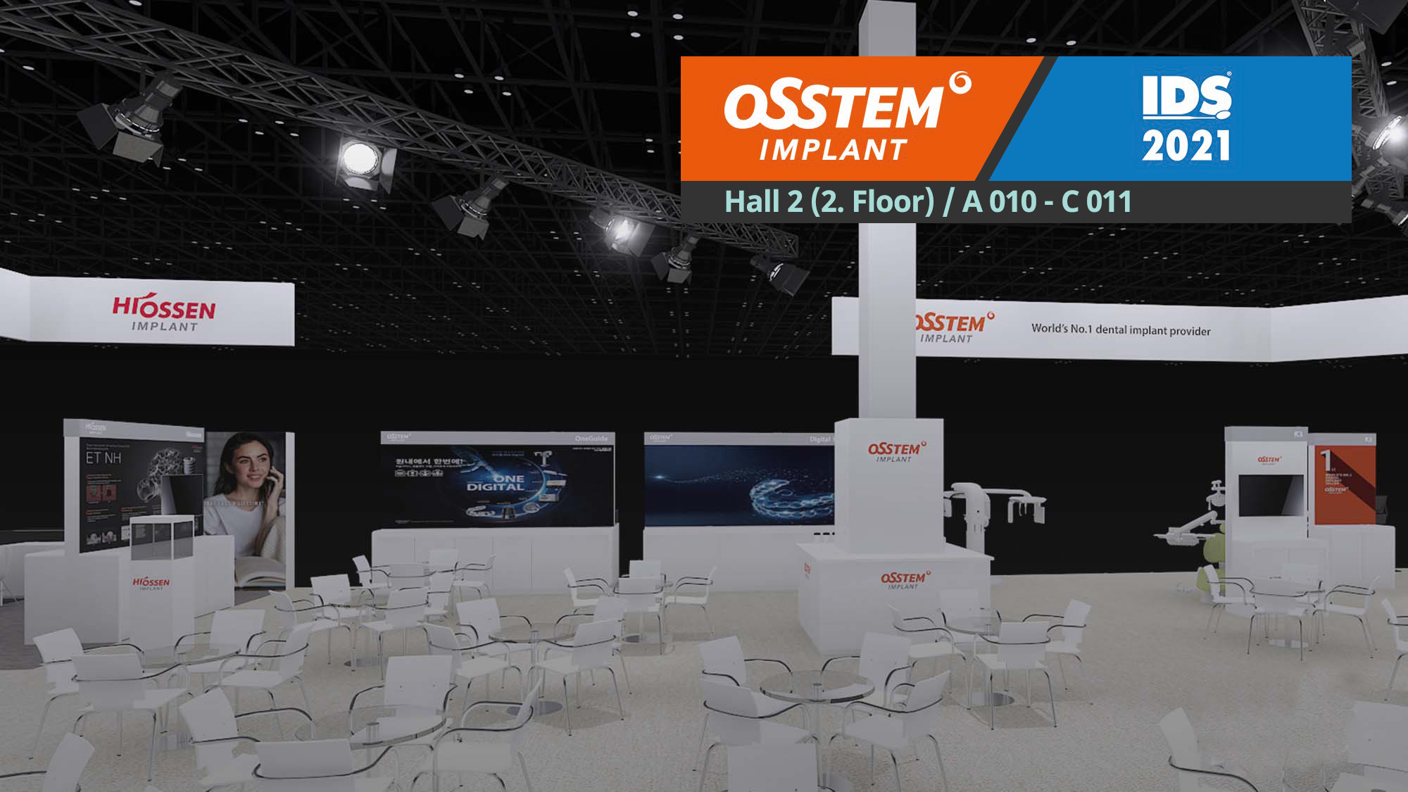 IDS × Osstem Implant: No matter what, we'll be there for you
