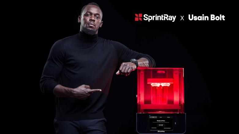 SprintRay announces multiyear partnership with Usain Bolt